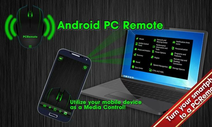 Android PC Remote is an application which allows you to remotely control your computer, laptop or TV over Wifi connection. Get access to desktop computers, laptops or even TVs and use your favorite programs from a distance. You can control mouse, keyboard, capture the current screen or just simply close out the page you're working at (with functional keys and buttons).