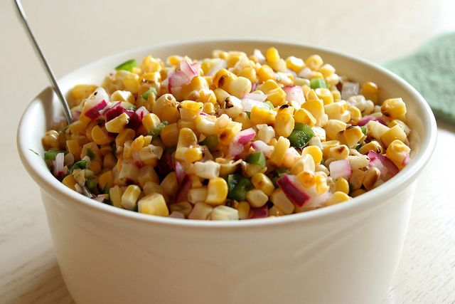 Fire-Roasted Corn Salsa from @Eat Your Heart Out