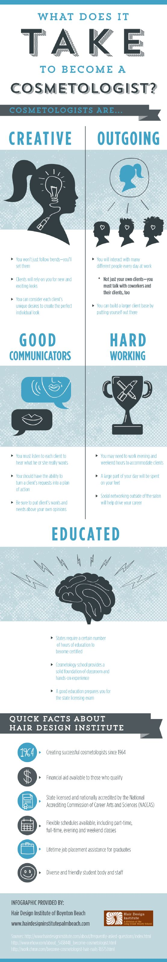 As a cosmetologist, you will spend a large part of your day on your feet! You can also boost your career by networking outside of your salon or other working environment. Find more tips by taking a look at this infographic from a cosmetology school in Boynton Beach.