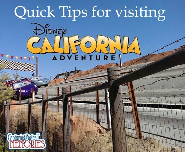 Disneyland California Adventure - Quick Tips