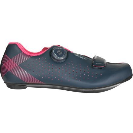 If you are looking for your first pair of clipless road shoes or an upgrade from you existing ones, the Shimano Women's SH-RP5 Cycling Shoes are certainty worth a look. Shimano constructs the SH-RP5's with some features that are a step above entry-level models so they can progress with you, but it does so at a price point that doesn't induce sticker shock.