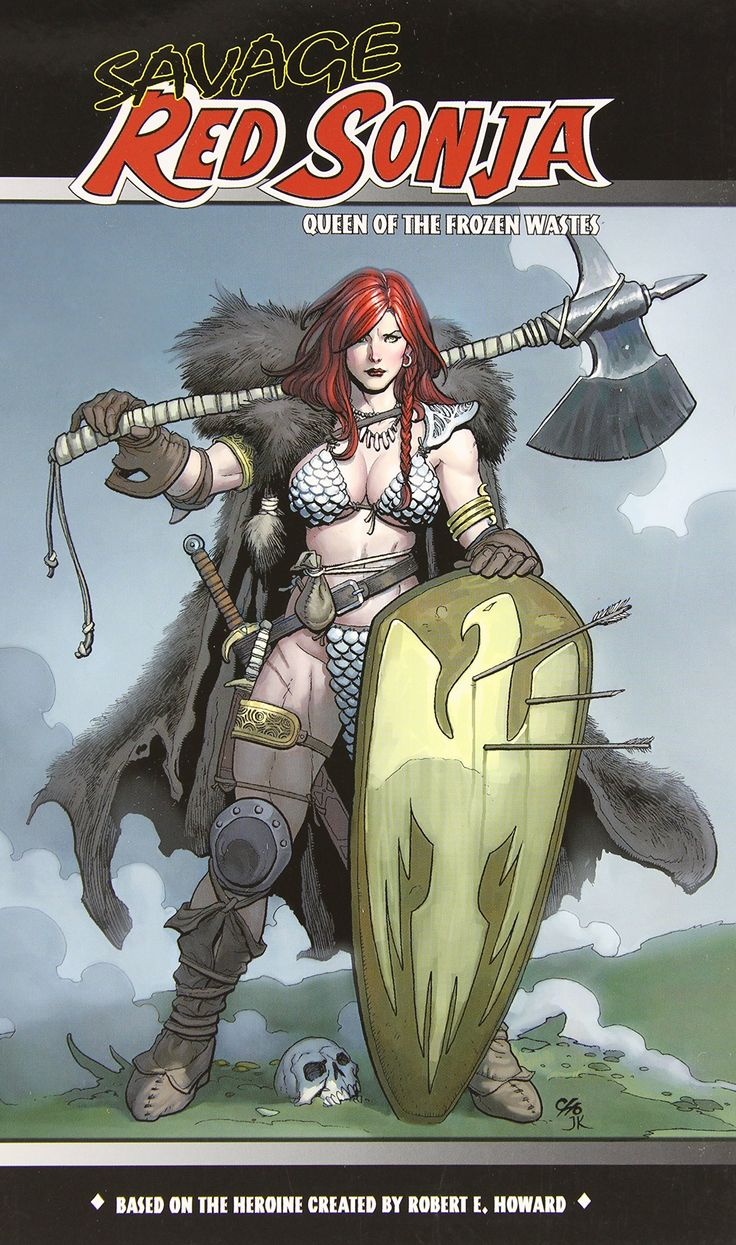 Savage Red Sonja: Queen of the Frozen Wastes (Red Sonja ...