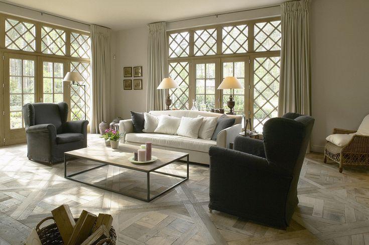 Engelse cottage met eiken gevelbeplanking - Villabouw Sels