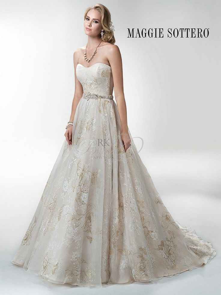 Maggie Sottero Fall 2014 - Style 4MS996 Avalon Gown Only