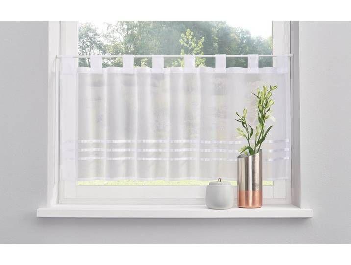 My Home Scheiben Gardine Weiss Kira In 2020 Curtains Window Curtains Home Decor