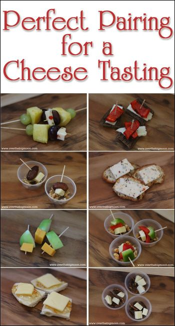 Perfect Pairing for a Cheese Tasting - 8 different cheeses and what to pair them with to make a perfect cheese tasting experience!