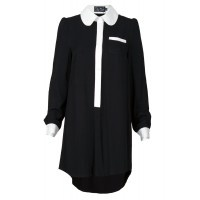 Was $84.95 Now $35. www.loveblackdresses.com.au  This French inspired white collared shirt dress works for all shapes and sizes.  Especially suits those with longer legs! A soft and comfortable wear.