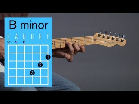 How to Play a B Minor Open Chord | Guitar Lessons
