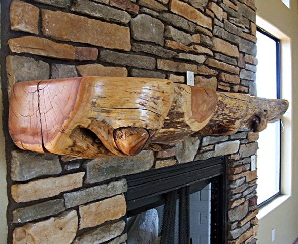 Wood Fireplace Mantels Shelves | Mantels for Fireplace, Rustic Mantle, Wooden Mantle, Wooden Mantel