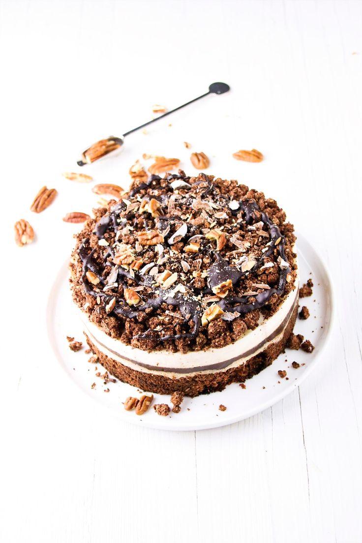 gezond genieten met oh my pie! glutenvrij lactosevrij en verantwoord. Cookie Dough, tiramisu, brownie en cheesecake in 1 favoriet!