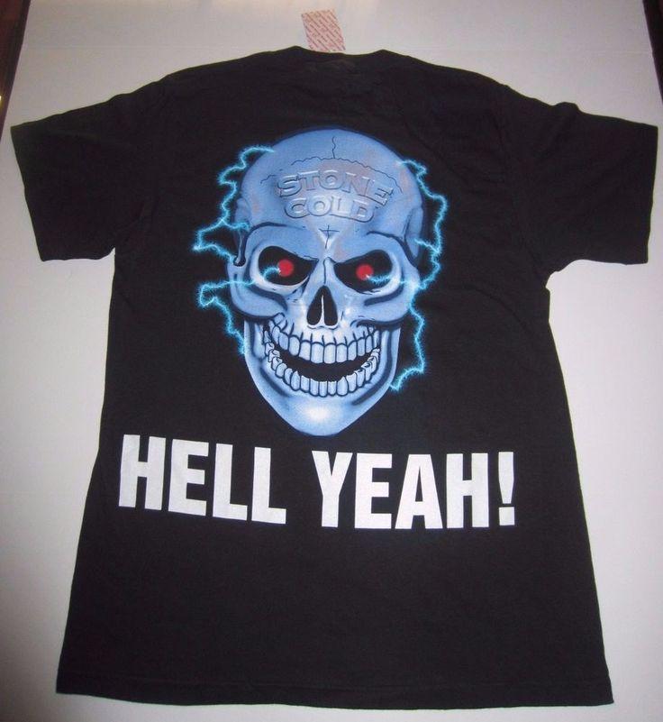VTG Stone Cold Steve Austin - Hell Yeah T-Shirt 1998 - WWF - WWE - Size L - NWT! #InAdvance #WWF #WWE #Wrestling #SteveAustin #Vintage