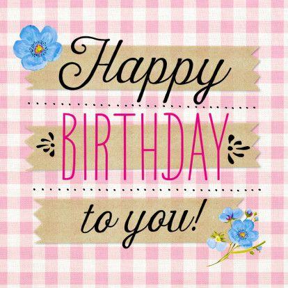 Happy Birthday to you. Verjaardagskaart, verkrijgbaar bij #kaartje2go voor €1,79