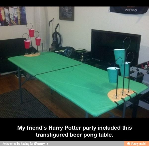 Harry Potter party... / iFunny :)