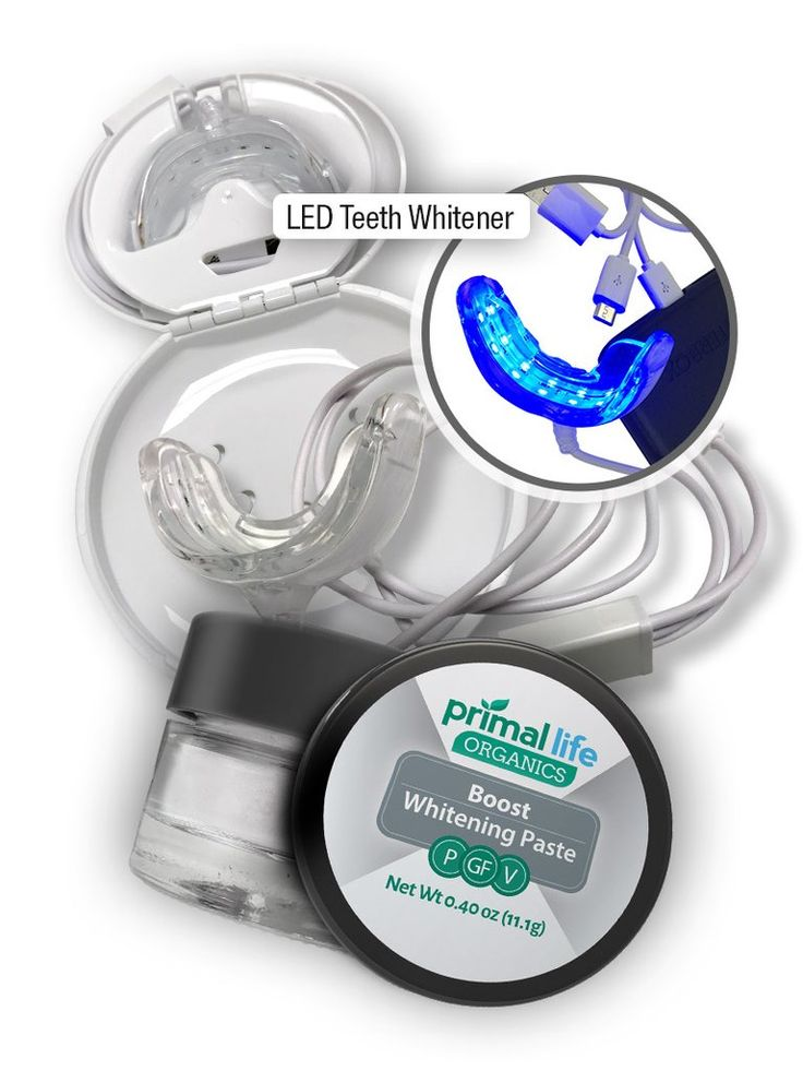 LED Natural Teeth Whitening System