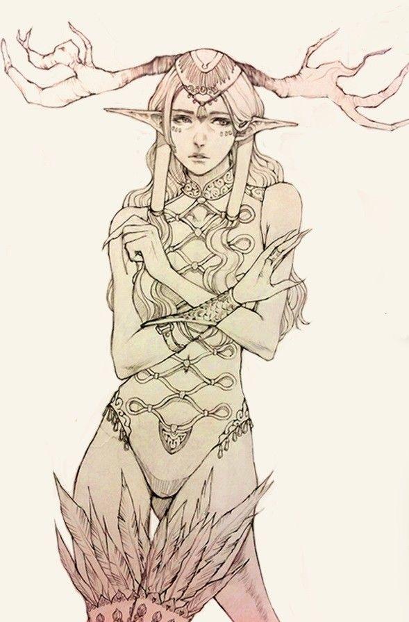 sketches, Harori Chéi on ArtStation at https://www.artstation.com/artwork/JOnWa