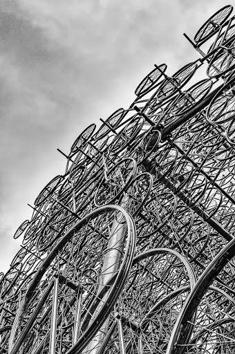 53Weeks 281 of 371: Bicycles [BlackWhite 1/7]