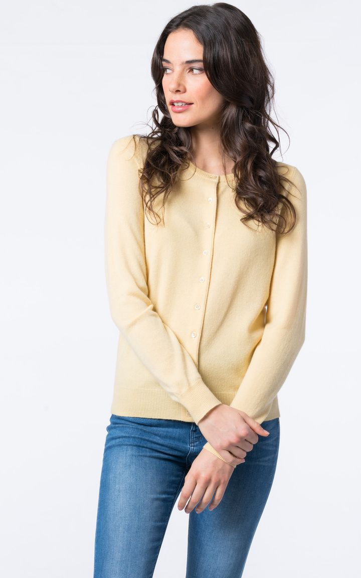 a50cf028ac6f Basic cashmere cardigan with round neck by  REPEATcashmere  spring ...