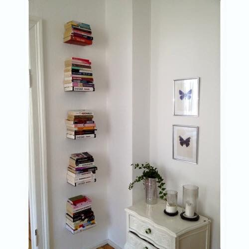 photo collage pinterest invisible bookshelf apartments and bedrooms - Invisible Bookshelves