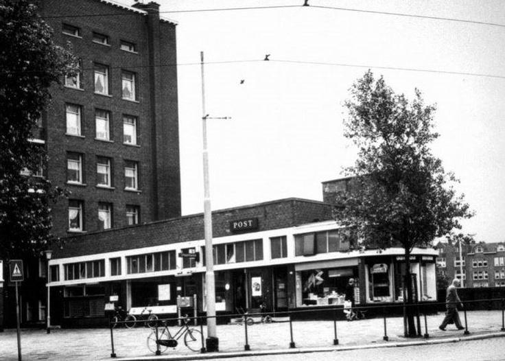 Postkantoor 1976, Mathenesserplein, Rotterdam - bewri