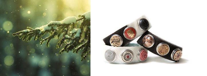 NOOSA Cowhide Bracelet |  http://bijtij-shop.nl/noosa-armband/noosa-cowhide-armband