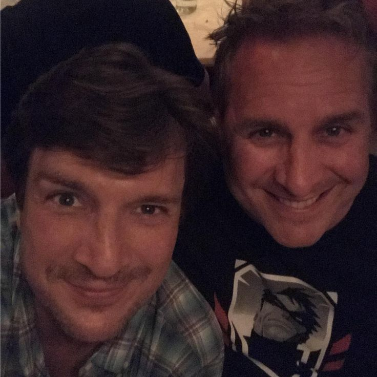 "Nathan Fillion (@natefillion) on Instagram: ""I couldn't ask for a better #brother."" 7/9/17 Montreal"