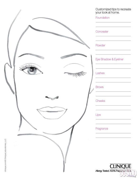 | ClioMakeUp Blog / Tutto su Trucco, Bellezza e Makeup ;) » Le face charts: cosa sono, a cosa servono e quali sono le più belle!