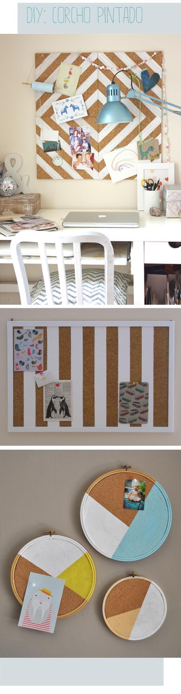 Corchos decorados - niños, decoración, fiestas y manualidades - escarabajos bichos y mariposas