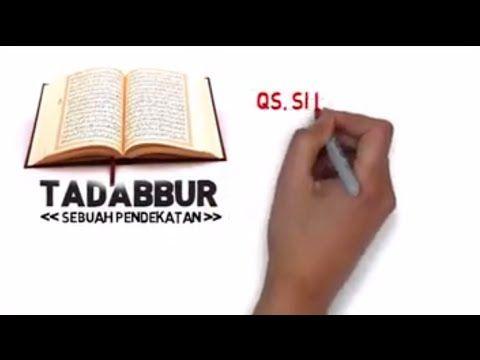 Animasi Keren: Pengenalan Tadabbur Al-Quran by Ustadz Bachtiar Nasir