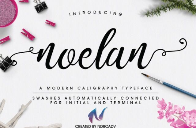Best Free Script Fonts for Personal and Commercial Use - Sarah Rachel Finke