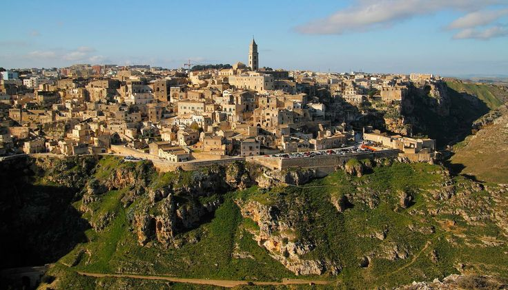 The Sassi of Matera are the historical center of the city of Matera.