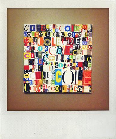 0125: Collage Art, Magazines Letters, Collage Ideas, Magazines Collage, Crafts Projects, Collage Projects, Brilliant Ideas, Letters Art, Names Art