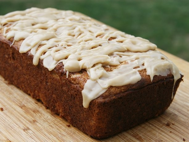 Salted Caramel Banana Bread? Just heard about salted caramel today from a sister! Always looking for new things to do with my rotten bananas!! =)