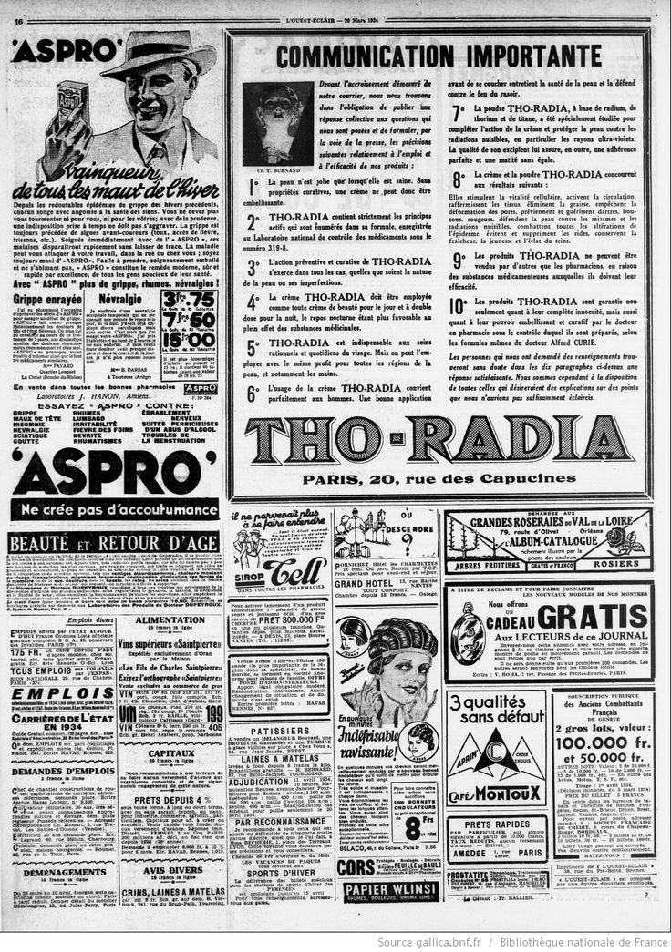 L'Ouest-Éclair : journal quotidien d'informations, politique, littéraire, commercial | 1934-03-20 | Gallica