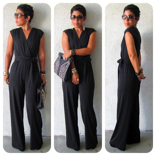 DIY Black Jumpsuit + Pattern Review McCall 6083 + Get The Look | mimi g. style