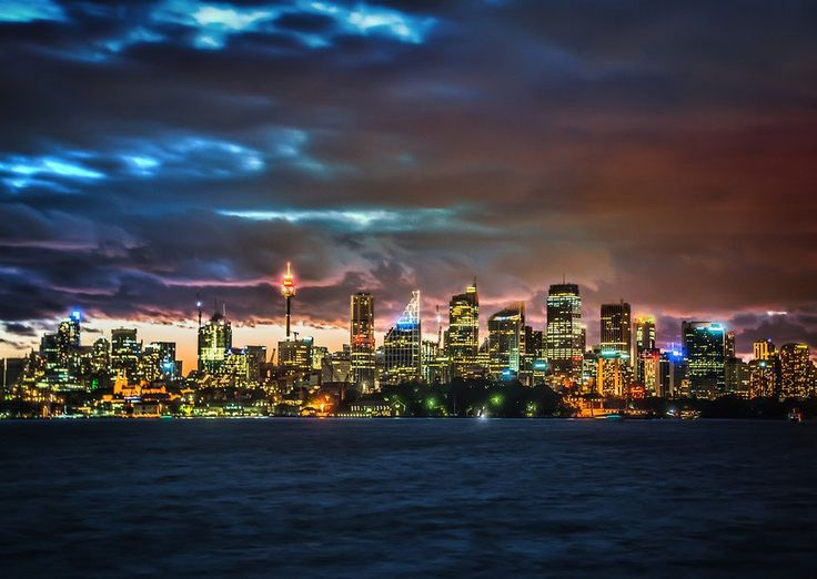 Downtown Sydney From #treyratcliff at www.StuckInCustom... - all images Creative Commons Noncommercial.