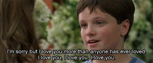 a young josh hutcherson in little manhattan. too cute!