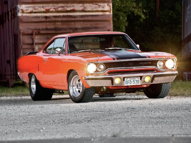 Paul Gaspard's 1970 Plymouth Road Runner is just one of many mopars he's built over 40 years, but it might be safe to say he's having too much fun with this one