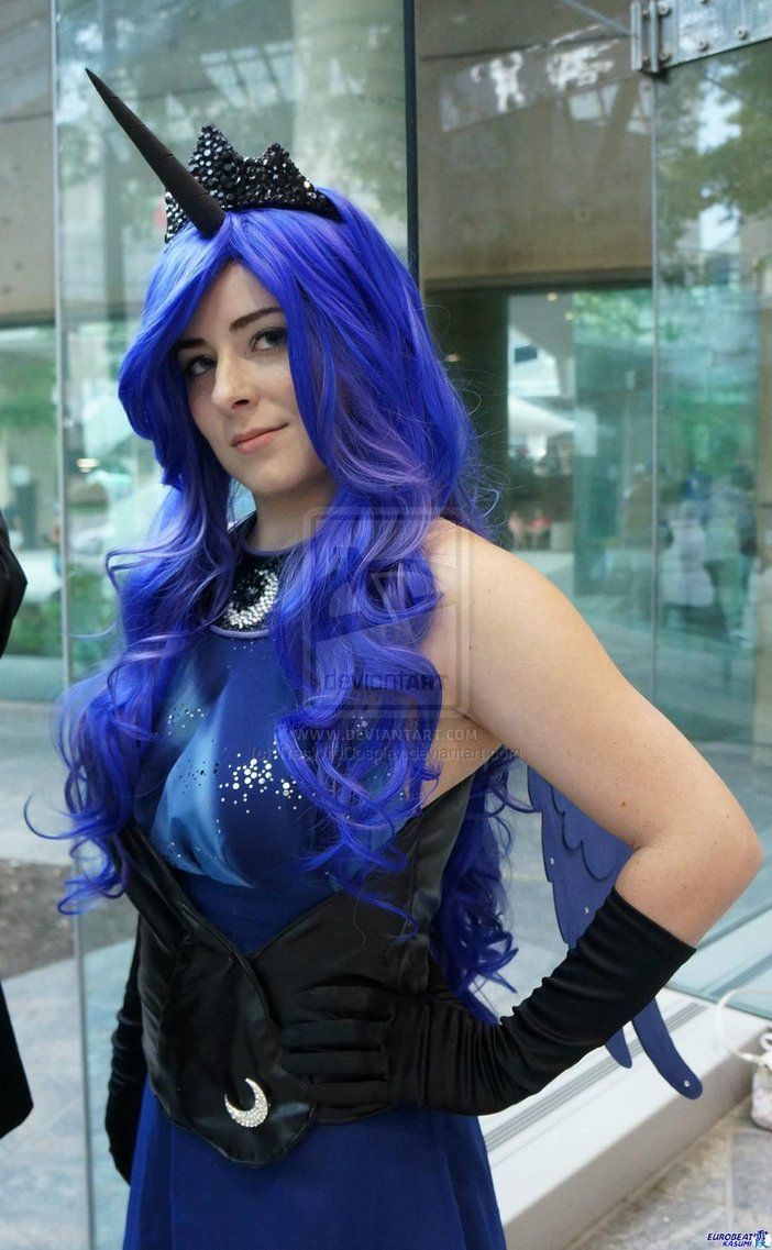 MLP: Princess Luna Close-Up by TresWildCosplay on deviantART