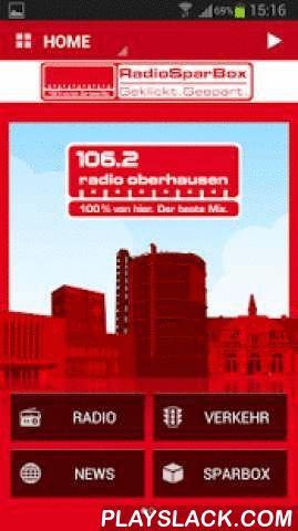 Radio Oberhausen  Android App - playslack.com ,  Erleben Sie die völlig neue App von Radio Oberhausen für Ihr Smartphone! Wir bieten Ihnen damit auch unterwegs den besten Service, lokale Informationen und natürlich den besten Mix.- Hören Sie sich die aktuelle Ausgabe unserer Lokalnachrichten an oder lesen Sie die neuesten Meldungen aus der Radio Oberhausen-Nachrichtenredaktion- Lesen Sie die aktuellen Blitzermeldungen und schicken Sie selbst die neusten Blitzer-Standorte direkt ins…
