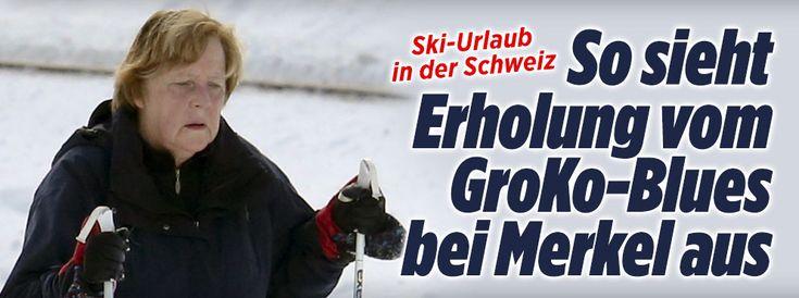Hier erholt sich Kanzlerin Merkel vom GroKo-Blues