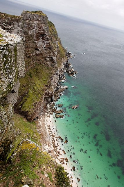 Cape Point promontory near Cape Town, South Africa