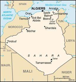 L'histoire de l'Algérie