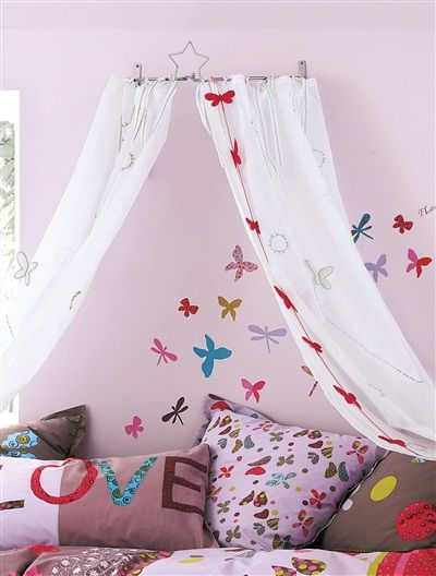 die besten 25 kinderbett himmel ideen auf pinterest kinder schlafzimmer m bel inspiration. Black Bedroom Furniture Sets. Home Design Ideas