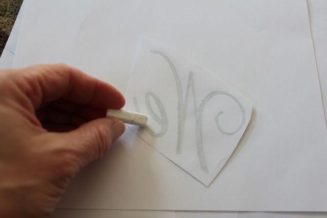 Shine Your Light: Fancy Chalkboard Lettering