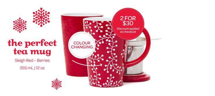 Red Berries Perfect Mug by DavidsTea