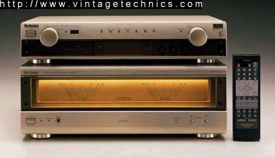 SU-C1010 Stereo Control Amplifier  SE-A1010 Stereo Power Amplifier