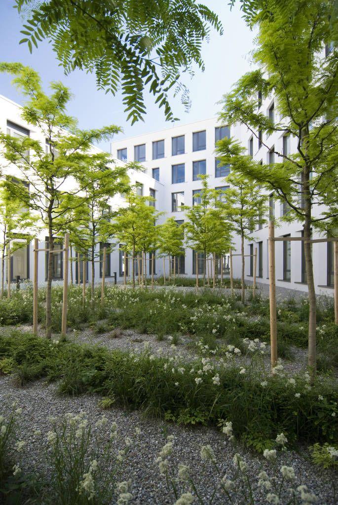 Grüner Hof (von grabner + huber landschaftsarchitekten partnerschaft)