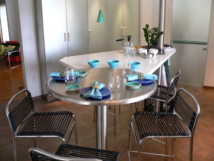 The Teppanyaki table is set and ready for Sunday brunch!