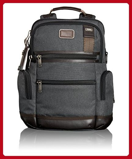 Tumi Alpha Bravo Knox Backpack, Anthracite, One Size - Little daily helpers (*Amazon Partner-Link)