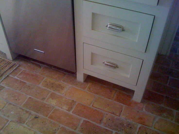 Indoor Brick Flooring Pavers For : Brick floor tile authentic flooring design interior
